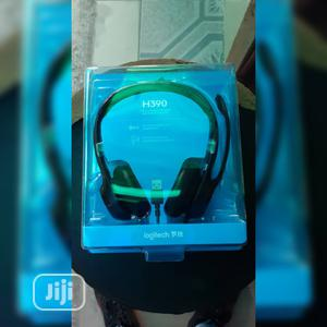 Logitech Usb Headset H390 | Headphones for sale in Lagos State, Ikeja
