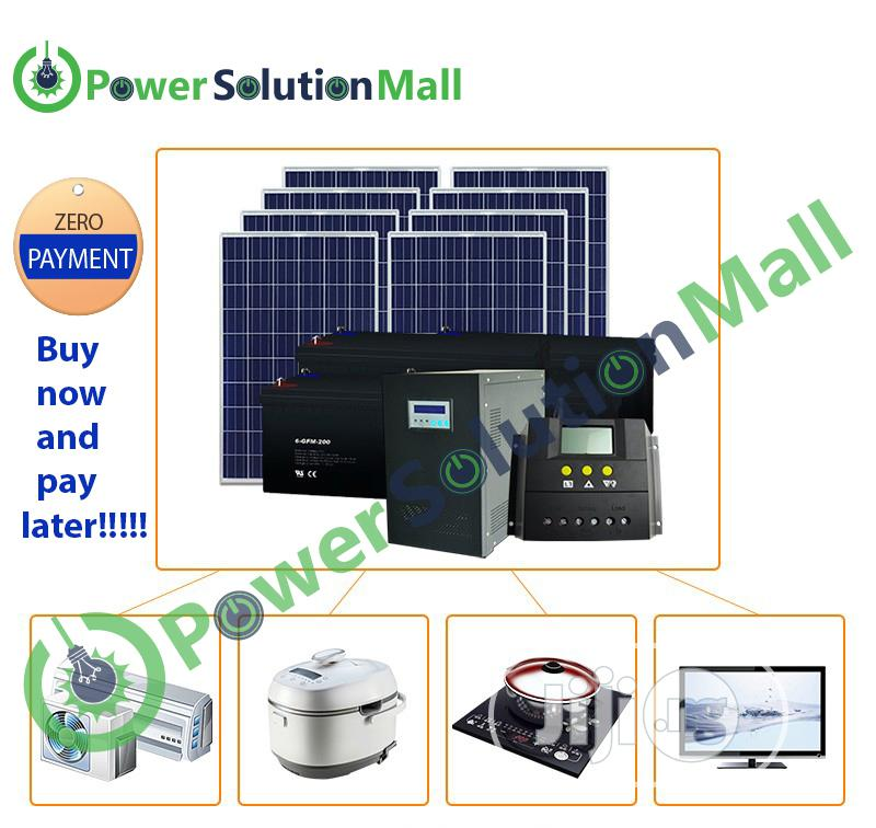 5kva SOLAR Solution Installation (With Pay Later Option)