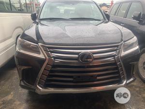 Lexus LX 2017 570 Base Black | Cars for sale in Lagos State, Ikeja