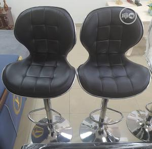 Black Leather Bar Stool | Furniture for sale in Lagos State, Surulere
