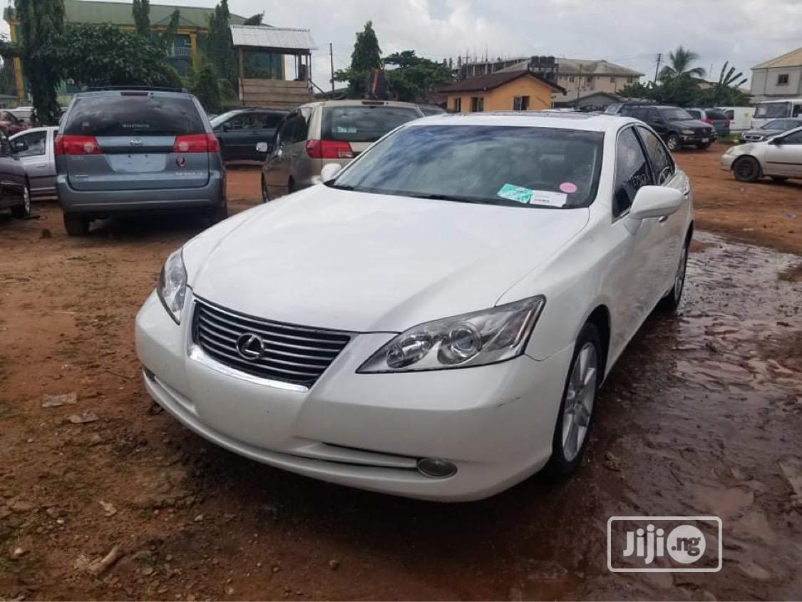 Lexus ES 2008 350 White   Cars for sale in Benin City, Edo State, Nigeria