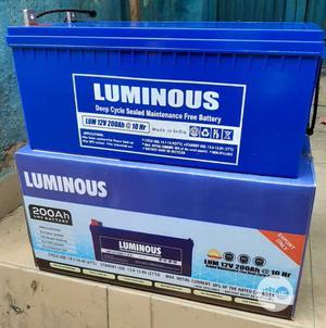 Luminous Solar Battery 12V 200ah   Solar Energy for sale in Abuja (FCT) State, Wuse 2