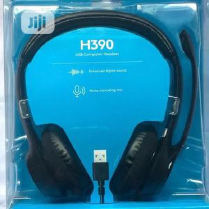 H390 USB Computer Headset | Headphones for sale in Lagos State, Ikeja