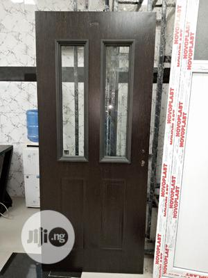 Wooden Door With Glass For Kitchen To Dinenig   Doors for sale in Lagos State, Orile