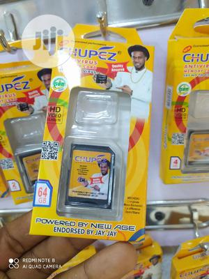 Chupez 64GB Memory Card - Micro SD With Adapter - Class 10   Accessories for Mobile Phones & Tablets for sale in Lagos State, Ikeja