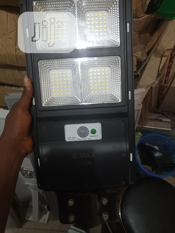 60w All In One Solar Street Light