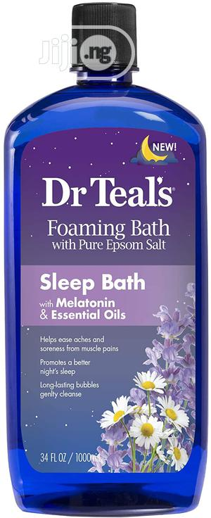 Dr Teal's Foaming Bath With Pure Epsom Salt, 1000ml | Skin Care for sale in Abuja (FCT) State, Gwarinpa
