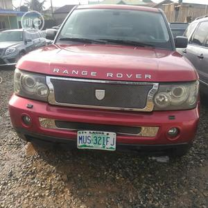 Land Rover Range Rover Sport 2008 4.2 V8 SC Red   Cars for sale in Lagos State, Ikoyi