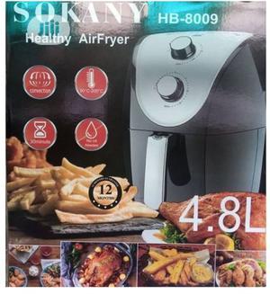 Sokany 4.8 Litre Electric Air Fryer   Kitchen Appliances for sale in Lagos State, Lagos Island (Eko)