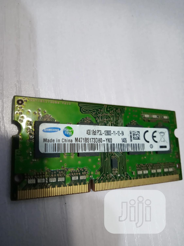4GB PC3L 12800s Laptop Memory