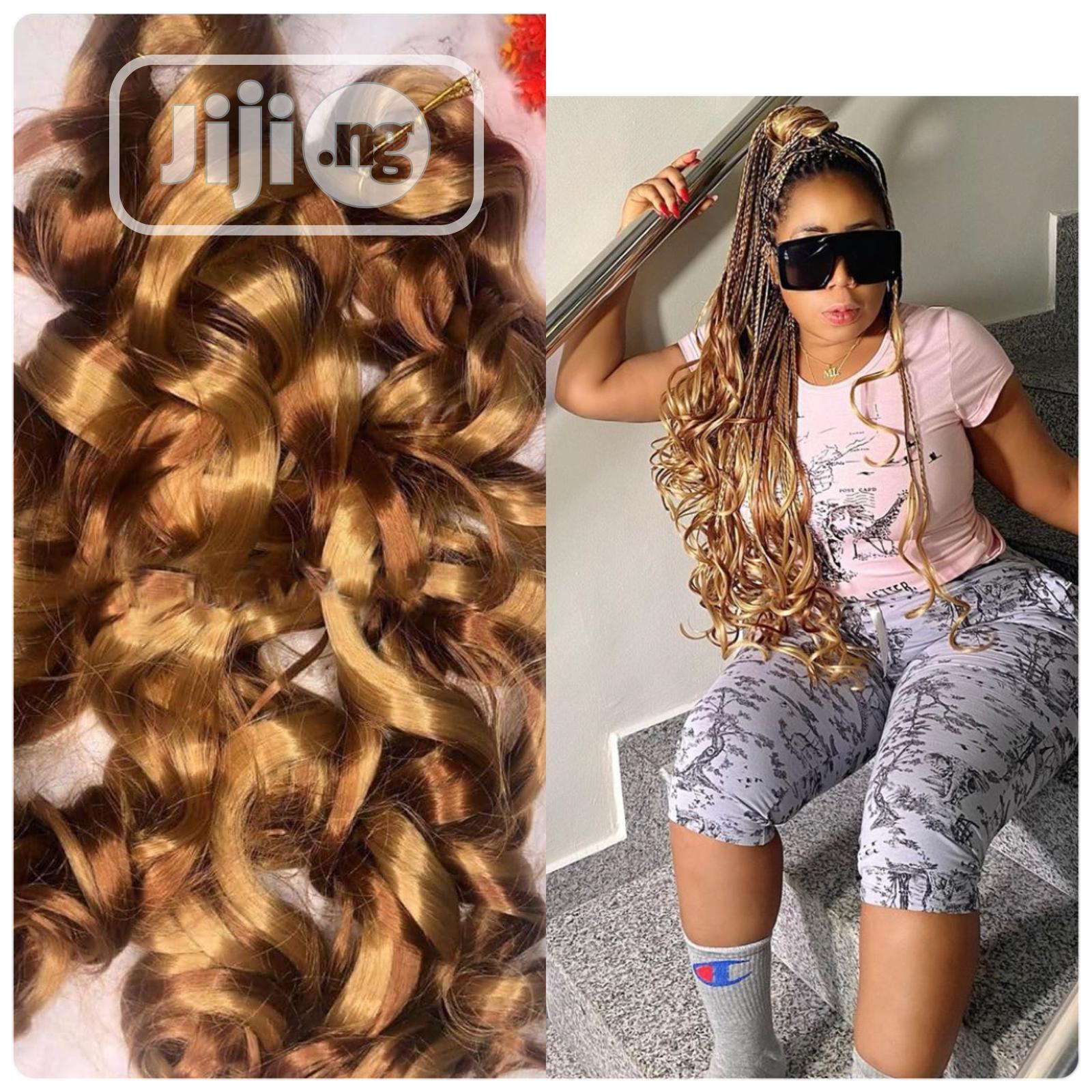 Wavy Braiding Hair   Hair Beauty for sale in Gbagada, Lagos State, Nigeria