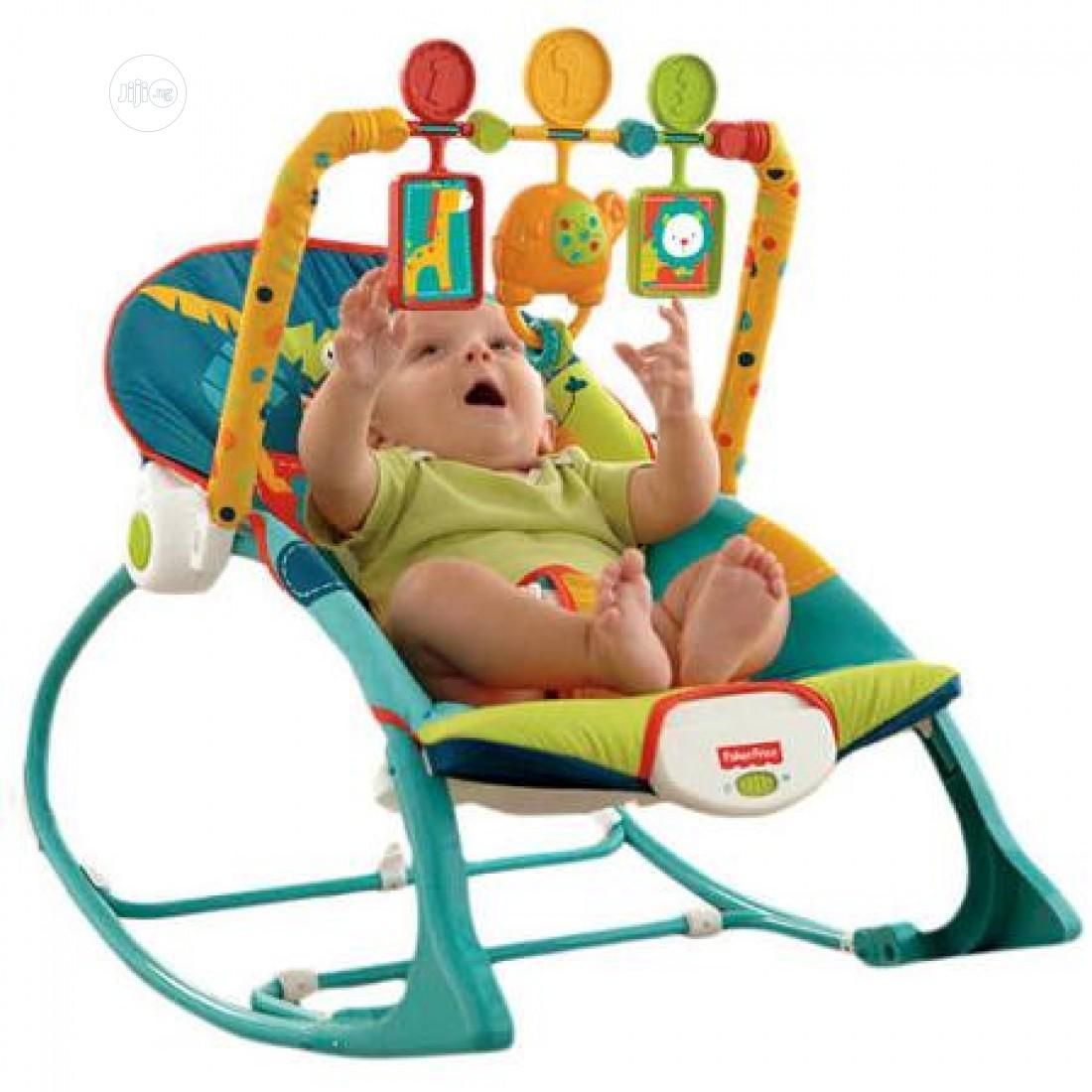 Archive: Infant to Toddler Rocker, Multi