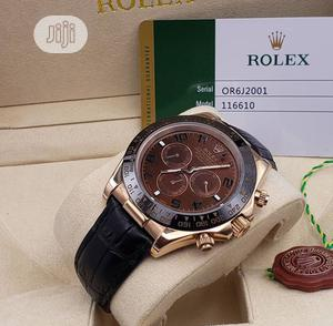 High Quality Rolex Leather Watch | Watches for sale in Lagos State, Magodo