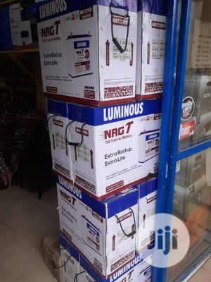 220ah 12v Tubular Battery Luminous Is Available | Solar Energy for sale in Lagos State, Ikeja