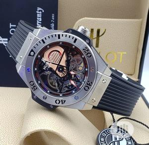 High Quality Hublot Rubber Sstrap Watch | Watches for sale in Lagos State, Magodo