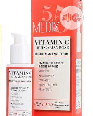 Medix 5.5 Vitamin C + Bulgarian Rose. Brightening Face Serum | Skin Care for sale in Lagos State, Ojo