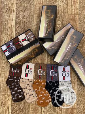 5 in One Gucci  Socks   Clothing Accessories for sale in Lagos State, Lagos Island (Eko)
