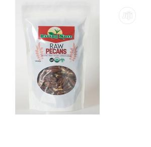 Living Nutz Organic Raw Pecans 16oz Nuts Halves US Grown   Meals & Drinks for sale in Lagos State, Amuwo-Odofin