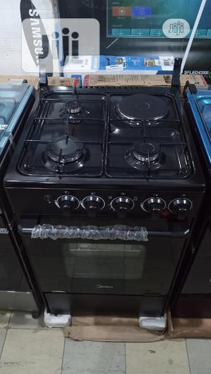 Midea Gas Cooker 3+1 With Oven Automatic Warranty | Kitchen Appliances for sale in Lagos State, Ikeja
