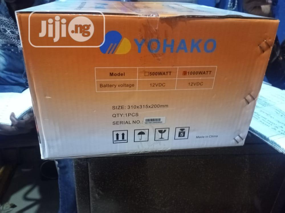 Archive: 1kva Yohako Intelligent Inverter