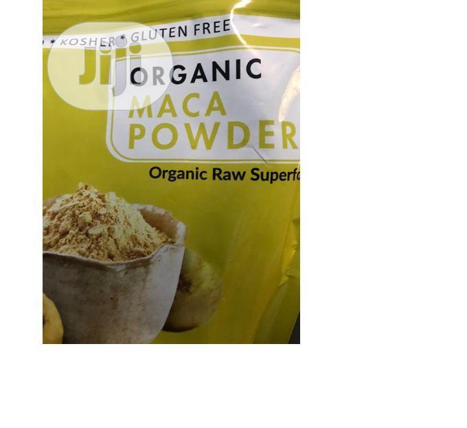 Naturevibe Botanicals USDA Organic Maca Powder 16 Oz 454g   Vitamins & Supplements for sale in Amuwo-Odofin, Lagos State, Nigeria