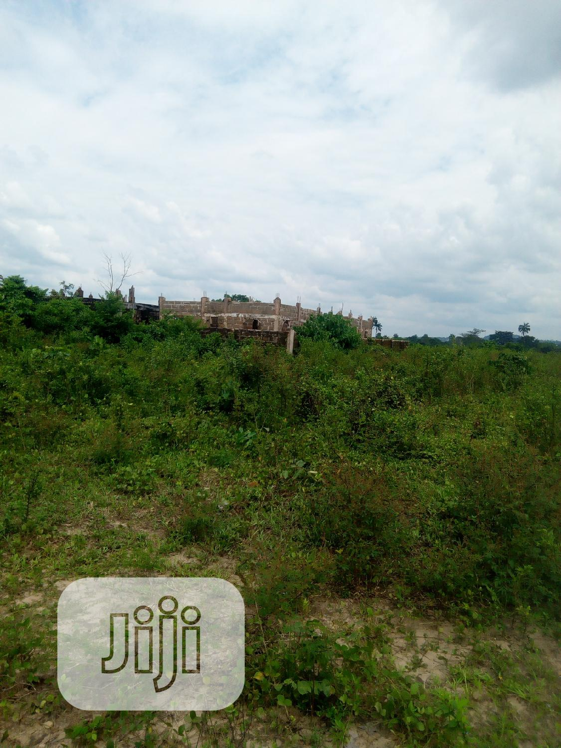 One Plot of Land for Sale at the Back of Star Gate Hotel