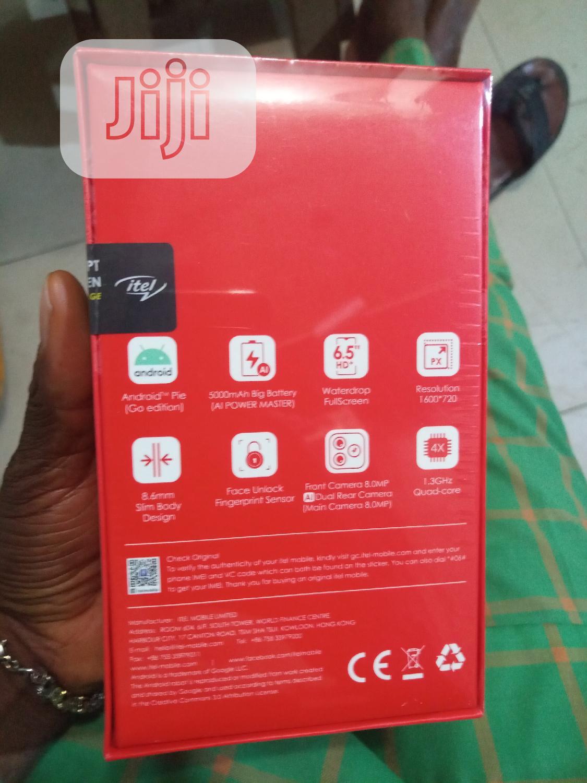 New Itel P36 16 GB Blue