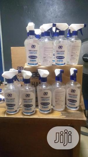 Hand Sanitizer(Surface Spray) 500ml | Skin Care for sale in Lagos State, Ikeja