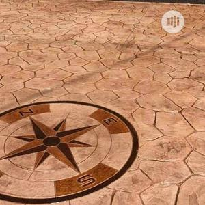 Stamped Concrete Floor | Building Materials for sale in Delta State, Okpe