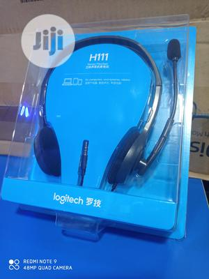Logitech H111 Stereo Headset | Headphones for sale in Rivers State, Port-Harcourt