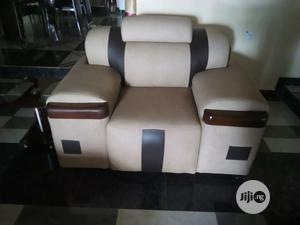 7 Seater Quality Leather Sofa, Complete Set   Furniture for sale in Rivers State, Port-Harcourt