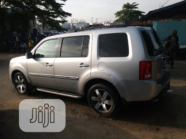 Honda Pilot 2012 Silver   Cars for sale in Apapa, Lagos State, Nigeria