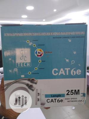 Genuine 25meters RJ45 Cat6 UTP PVC Patch Cord Ethernet Cable | Accessories & Supplies for Electronics for sale in Lagos State, Ikeja