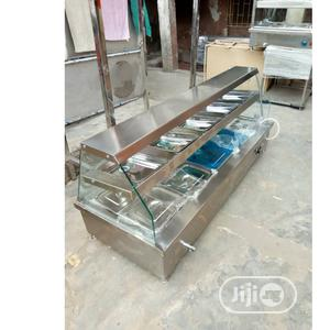 Stainless 5plates Food Warmer With Top   Restaurant & Catering Equipment for sale in Lagos State, Surulere