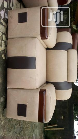 7 Seater Complete Leather Sofa   Furniture for sale in Rivers State, Port-Harcourt