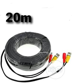 20m Power And Video CCTV BNC Cable Is Made For Cameras. | Accessories & Supplies for Electronics for sale in Lagos State, Ikeja