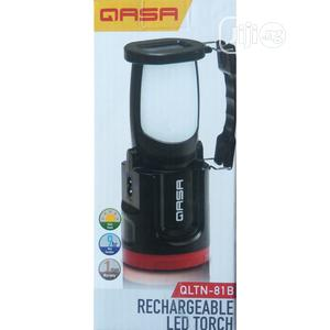 Qasa Solar Rechargeable Led Torch & Lantern (QLTN-81B) | Solar Energy for sale in Lagos State, Ikeja