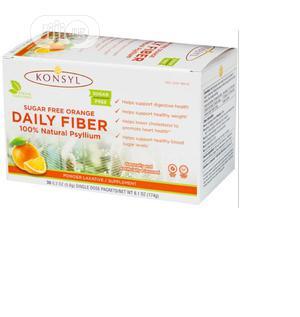Konsyl Daily Fiber Orange 100% Psyllium Husk Powder   Vitamins & Supplements for sale in Lagos State, Amuwo-Odofin