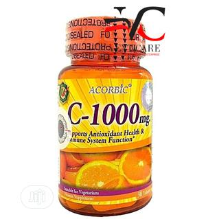 Ascorbic Vitamin C-1000mg 30 Tablets   Vitamins & Supplements for sale in Lagos State, Ojo