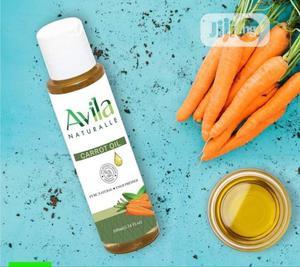 Avila Carrot Oil 100% Organic Cold Pressed | Skin Care for sale in Lagos State, Amuwo-Odofin