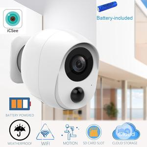 Battery Powered WIFI IP Camera 1080P   Security & Surveillance for sale in Lagos State, Ikeja