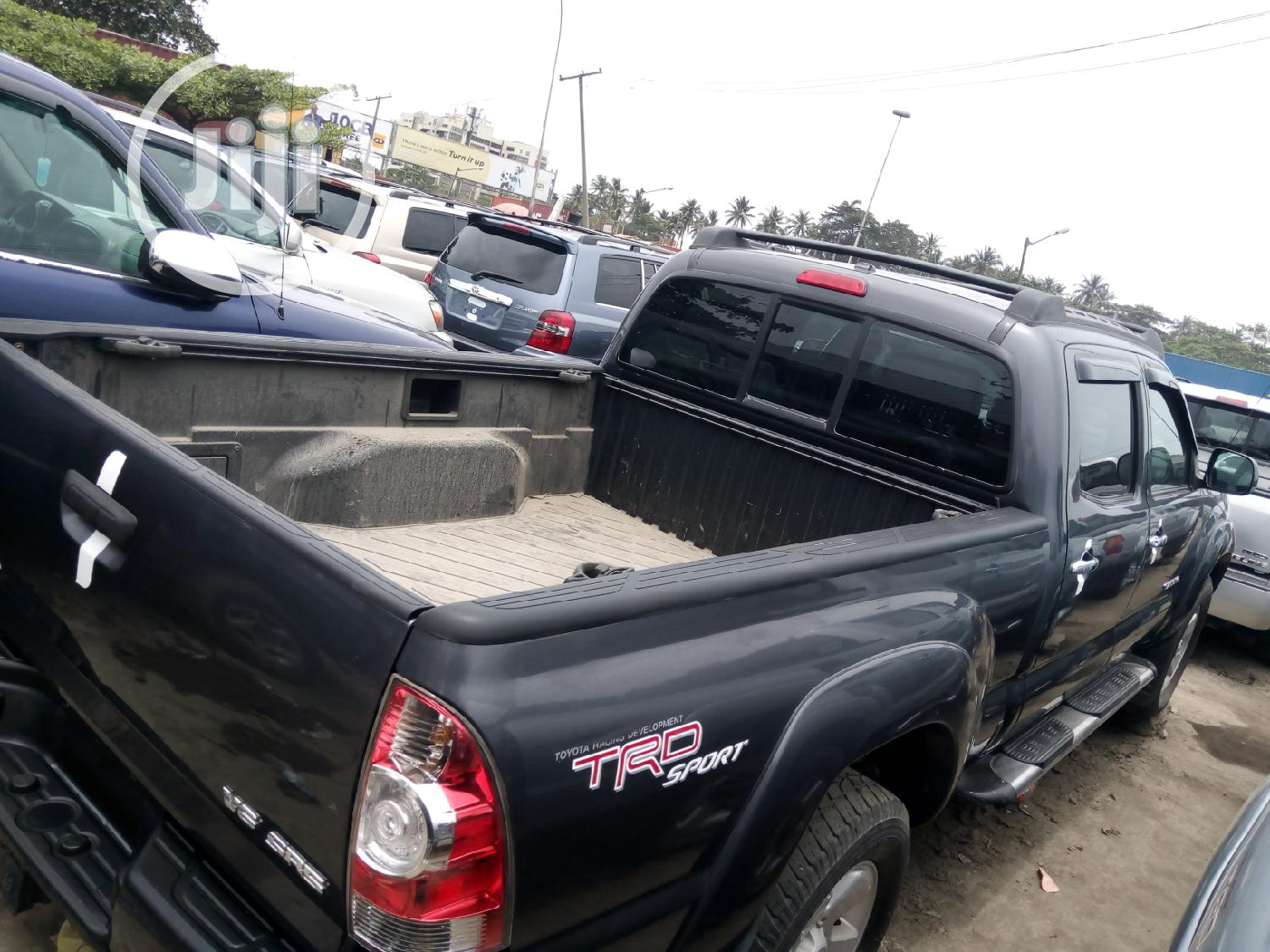 Toyota Tacoma 2008 4x4 Double Cab Gray   Cars for sale in Apapa, Lagos State, Nigeria