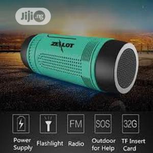 Zealot S1 Bluetooth Speaker Power Bank, Light, Tf Card, FM | Audio & Music Equipment for sale in Lagos State, Ikotun/Igando