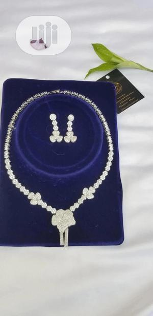 Cubic Zirconium Silver Jewelry Set | Jewelry for sale in Lagos State, Ajah