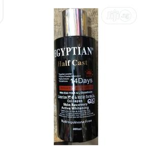 Egyptian Half Cast Whitening Lotion With Eggyolk 400ml   Skin Care for sale in Abuja (FCT) State, Gwarinpa