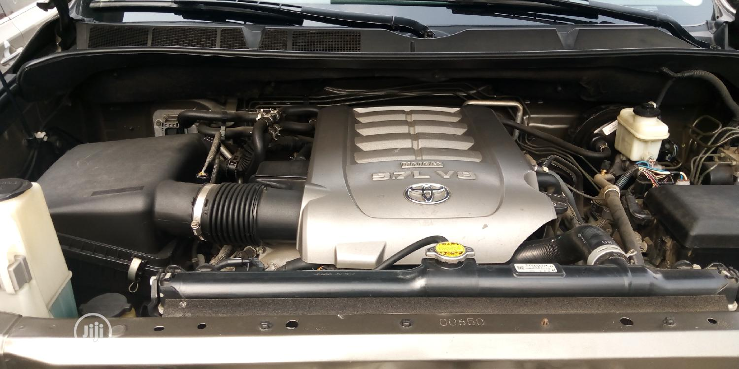 Toyota Sequoia 2010 Gray | Cars for sale in Apapa, Lagos State, Nigeria