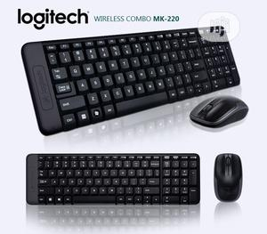 Logitech Mk220 Keyboard and Mouse Combo   Computer Accessories  for sale in Lagos State, Ipaja