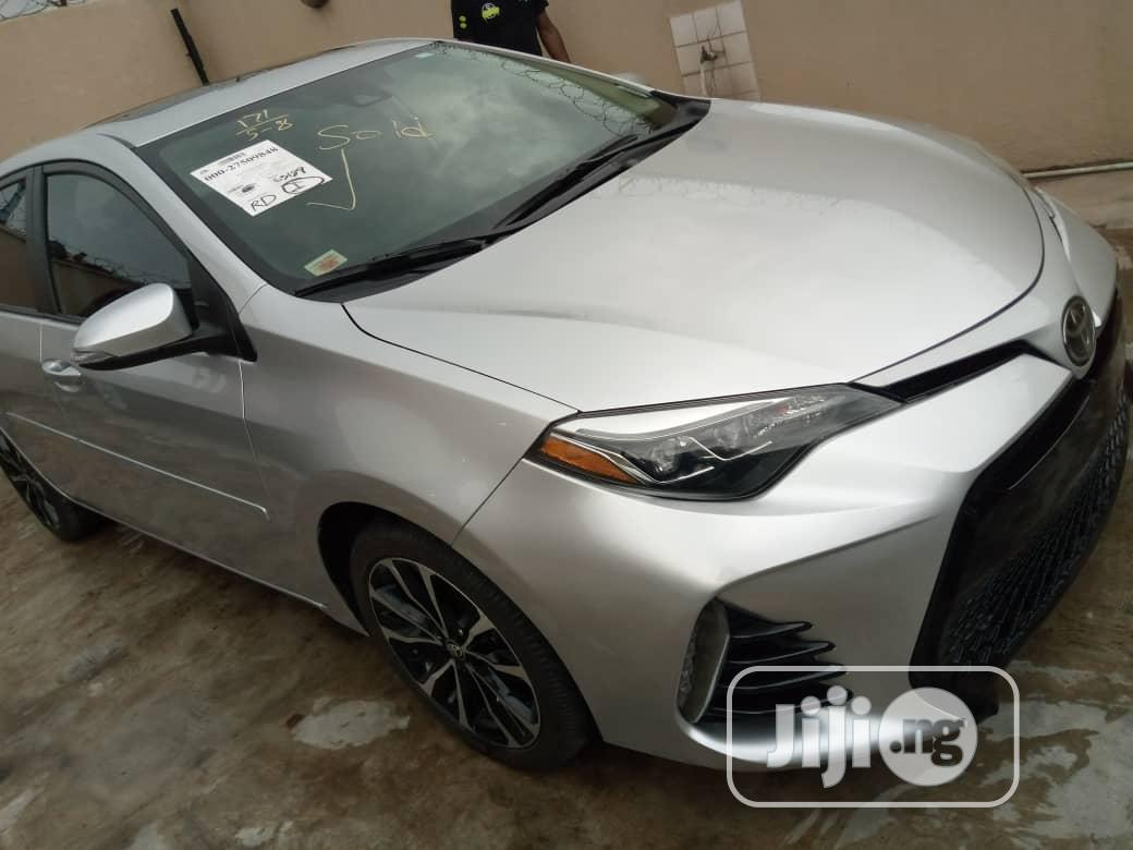 Toyota Corolla 2017 Silver   Cars for sale in Surulere, Lagos State, Nigeria