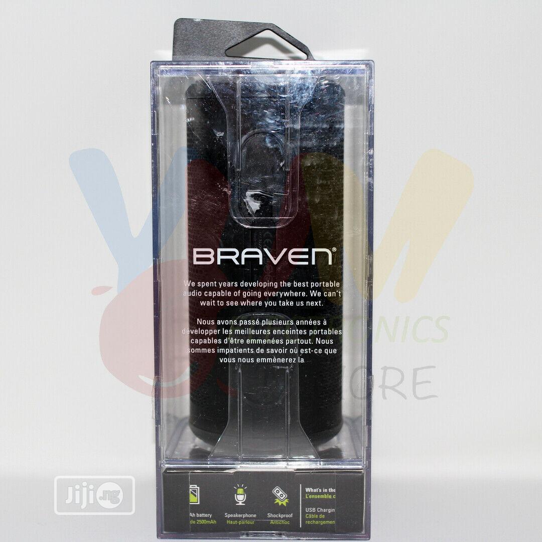 Braven Stryde 360 Water & Proof Wireless Bluetooth Speaker
