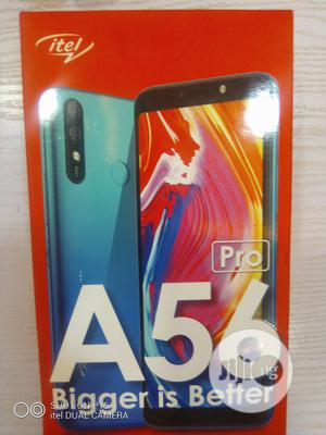 New Itel A56 16 GB Black | Mobile Phones for sale in Lagos State, Ikeja